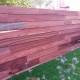 houten wand in padoek