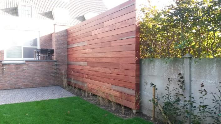 Particuliere tuinen en ontwerp de jonghe eeklo - Muur zwembad ...