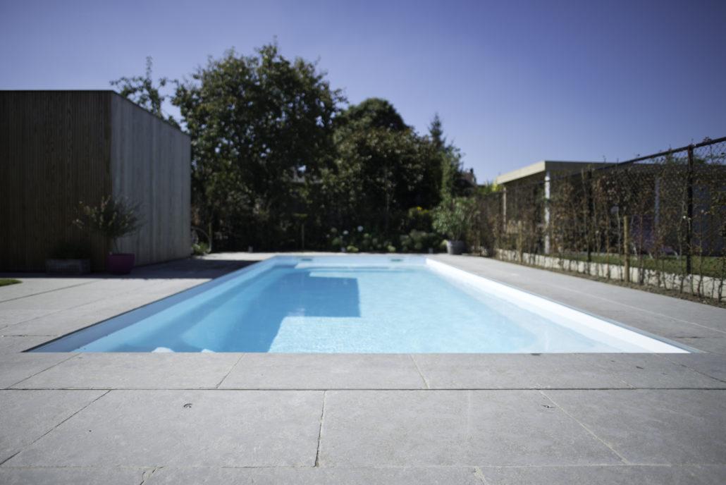 Tuin rond zwembad de jonghe eeklo